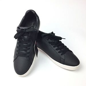 Zara Man Perforated Vegan Leather Sneakers